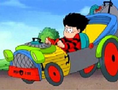 Dennis And Gnasher Childrens Tv Jedi S Paradise
